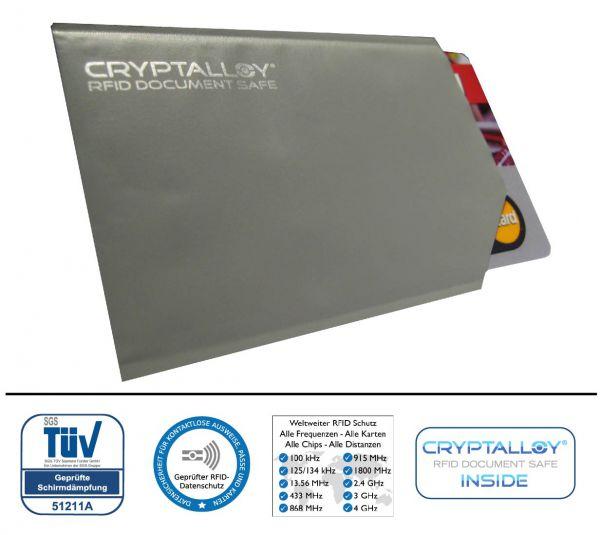 RFID NFC Schutzhülle Classic Credit für kontaktlos Ausweis, Kreditkarte, Girogo